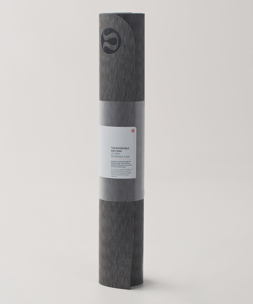 Lululemon The Reversible Mat 5mm - Dramatic Static Slate Black / Slate