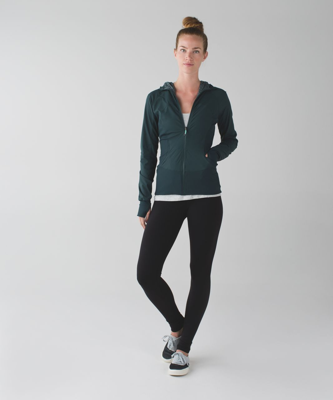 Lululemon In Flux Jacket - Dark Fuel