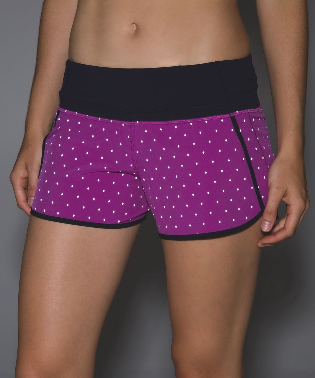 Lululemon Run Times Short (Reflective) *4-way Stretch - Night Fall Ultra Violet Silver / Naval Blue