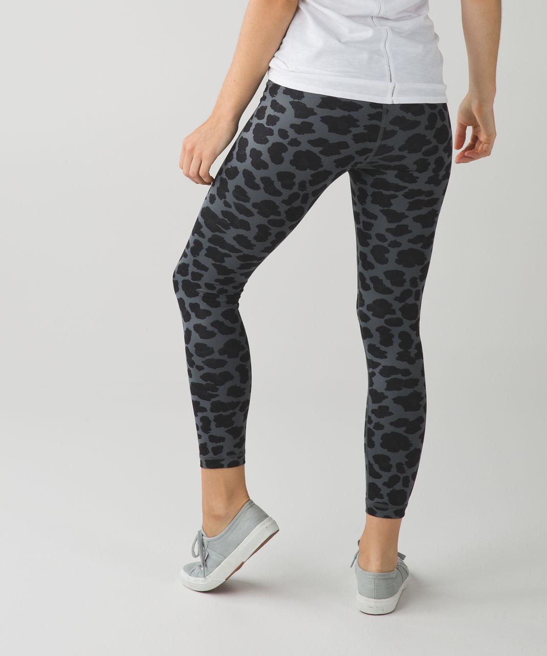 Lululemon High Times Pant *Full-On Luxtreme - Cherry Cheetah Dark Slate Black