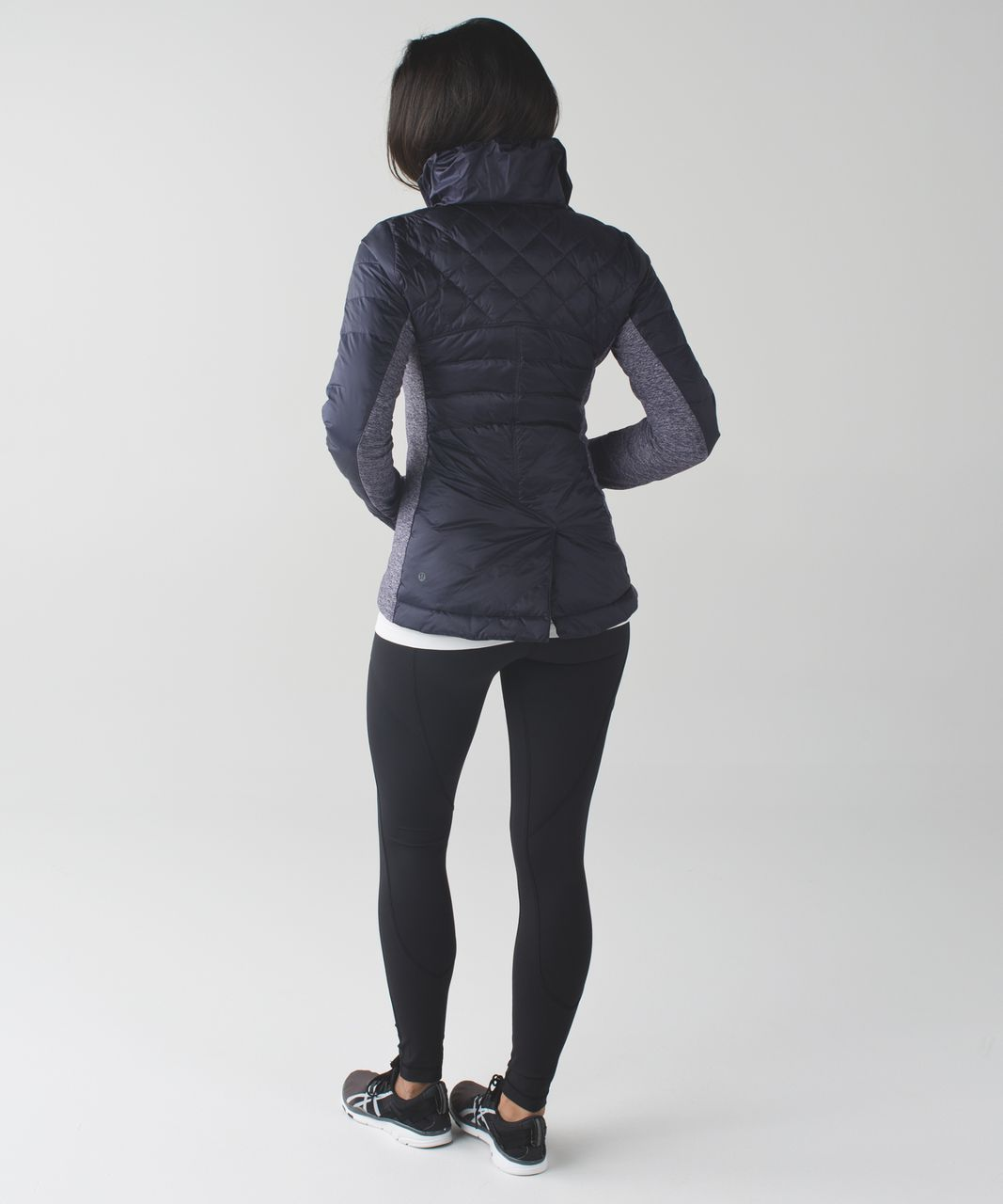 Down for a run jacket black lululemon