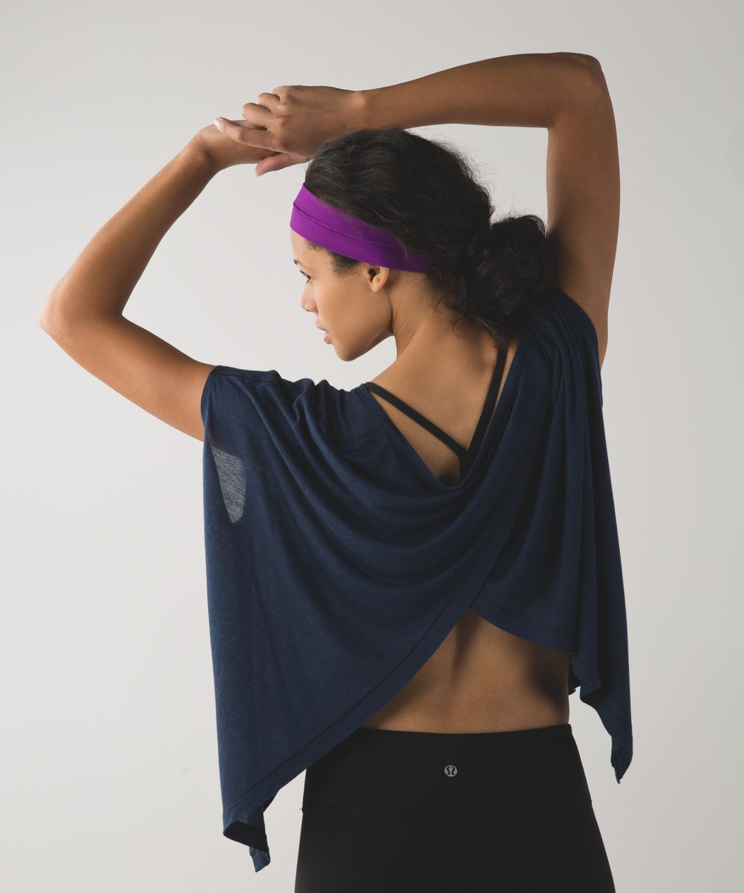 Lululemon Fly Away Tamer Headband - Tender Violet