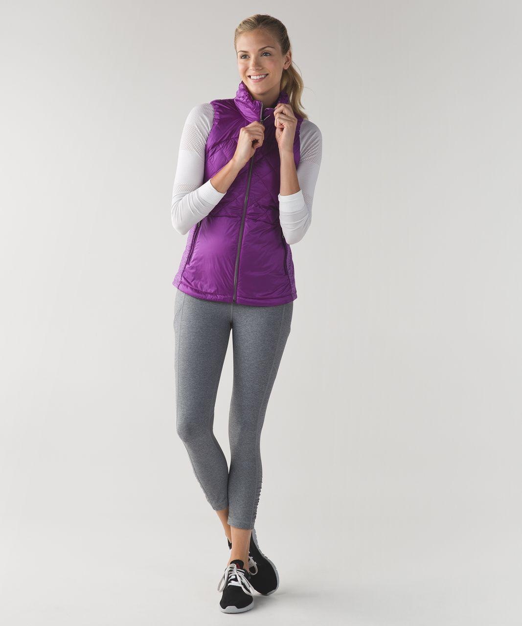 Lululemon Down For A Run Vest - Tender Violet