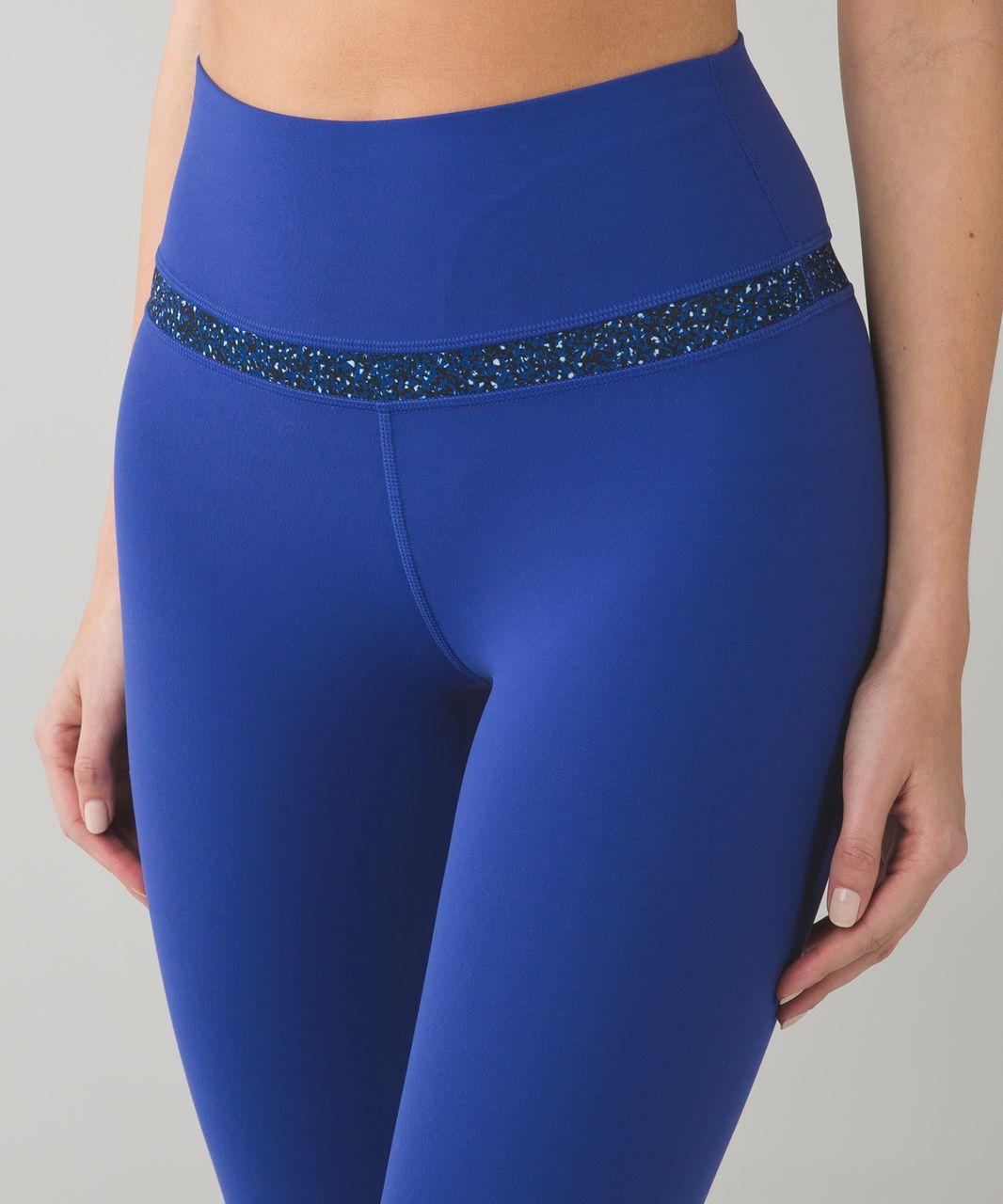 Lululemon Align Pant - Sapphire Blue / Flashback Static Caspian Blue Sapphire Blue