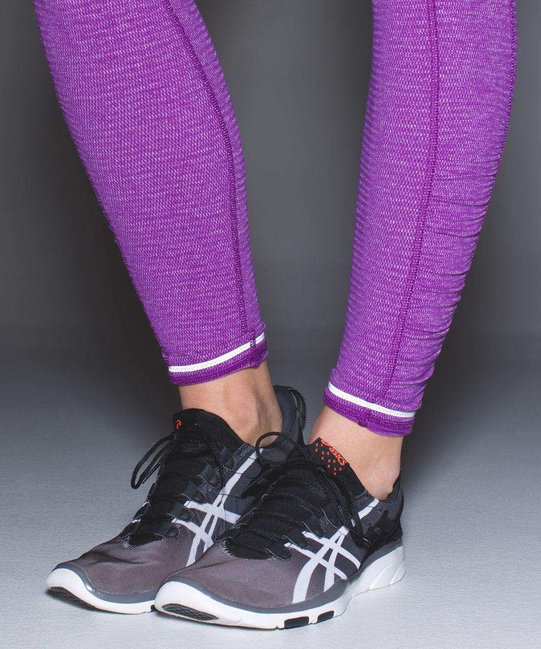 Lululemon Speed Tight IV *Rulu - Heathered Herringbone Heathered Tender Violet Black Grape