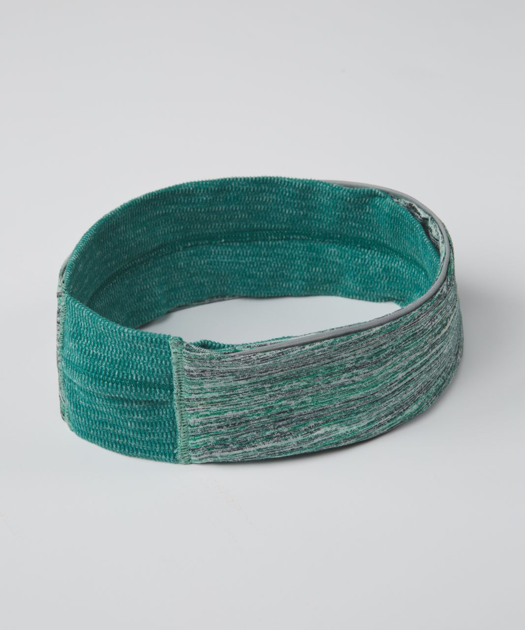 Lululemon Run And Done Ear Warmer - Mini Check Pique Hunter Green Heathered Hunter Green / Space Dye Camo Forage Teal Black