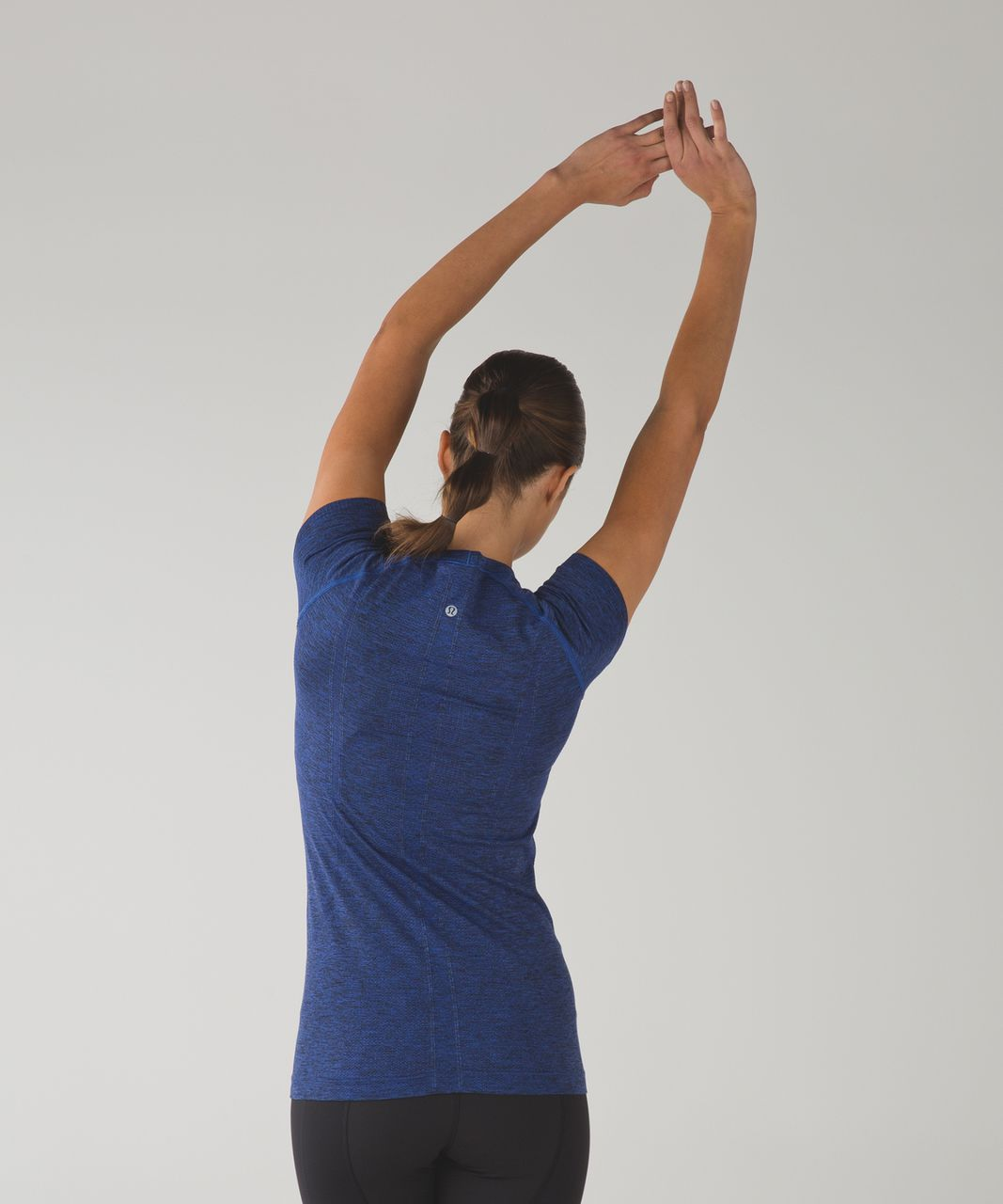 Lululemon Swiftly Tech Short Sleeve Crew (Second Release) - Heathered Sapphire Blue