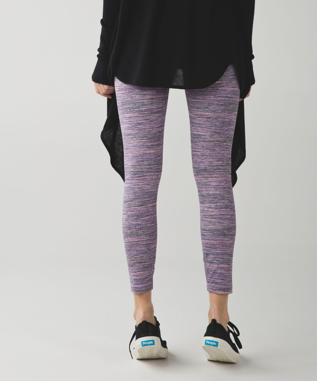 Lululemon High Times Pant - Space Dye Camo Tender Violet Black Grape