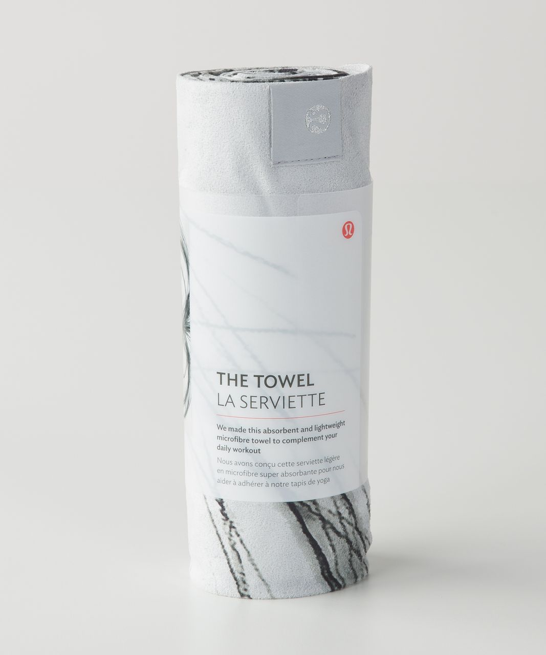 Lululemon The Towel - Heather Hansen Towel Silver Spoon Black