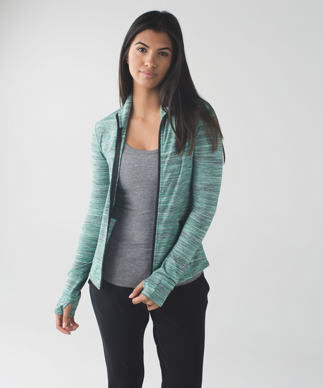 c191f30d93f6d Lululemon Define Jacket - Space Dye Camo Forage Teal Black - lulu ...