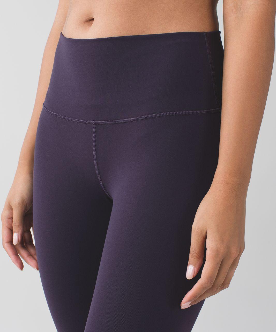 Lululemon High Times Pant *Full-On Luon - Black Grape