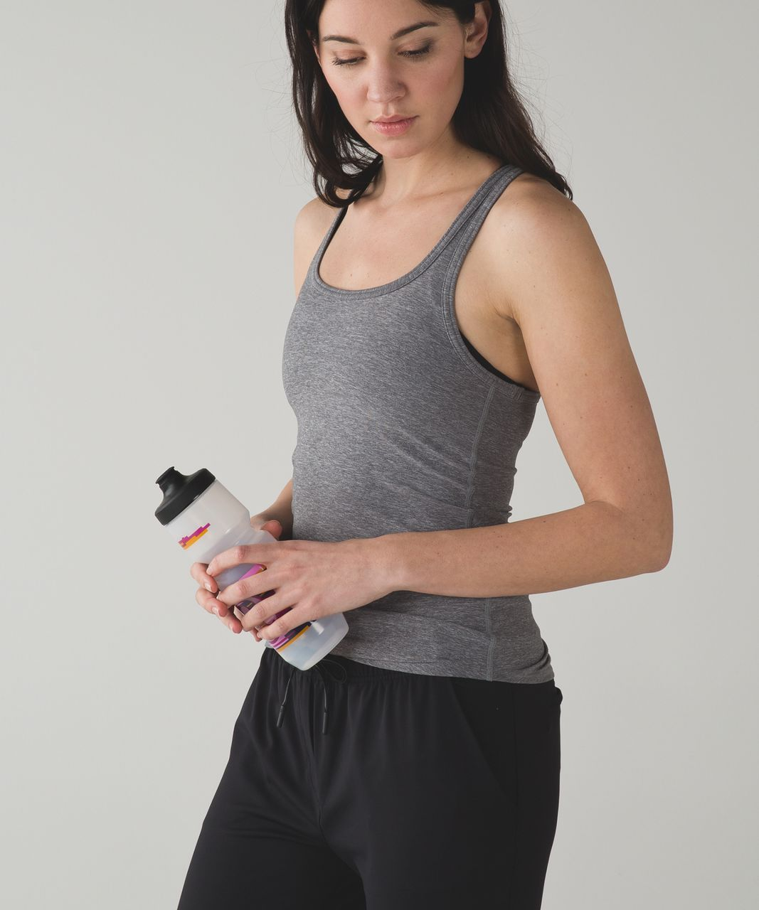 Lululemon Purist Cycling Water Bottle *26 oz - Pigment Wave Berry Rumble Multi / Clear