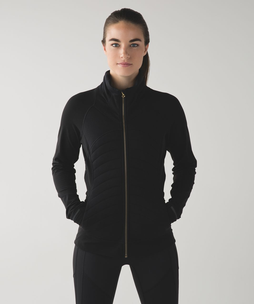 Lululemon Fleece Out Jacket Black Lulu Fanatics