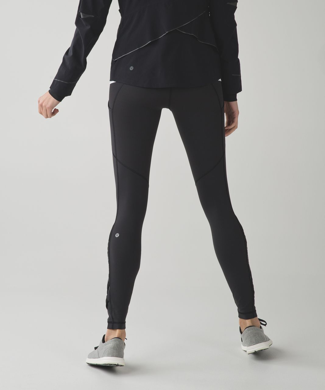 Lululemon Speed Tight IV (Full-On Luxtreme) *Weave - Black