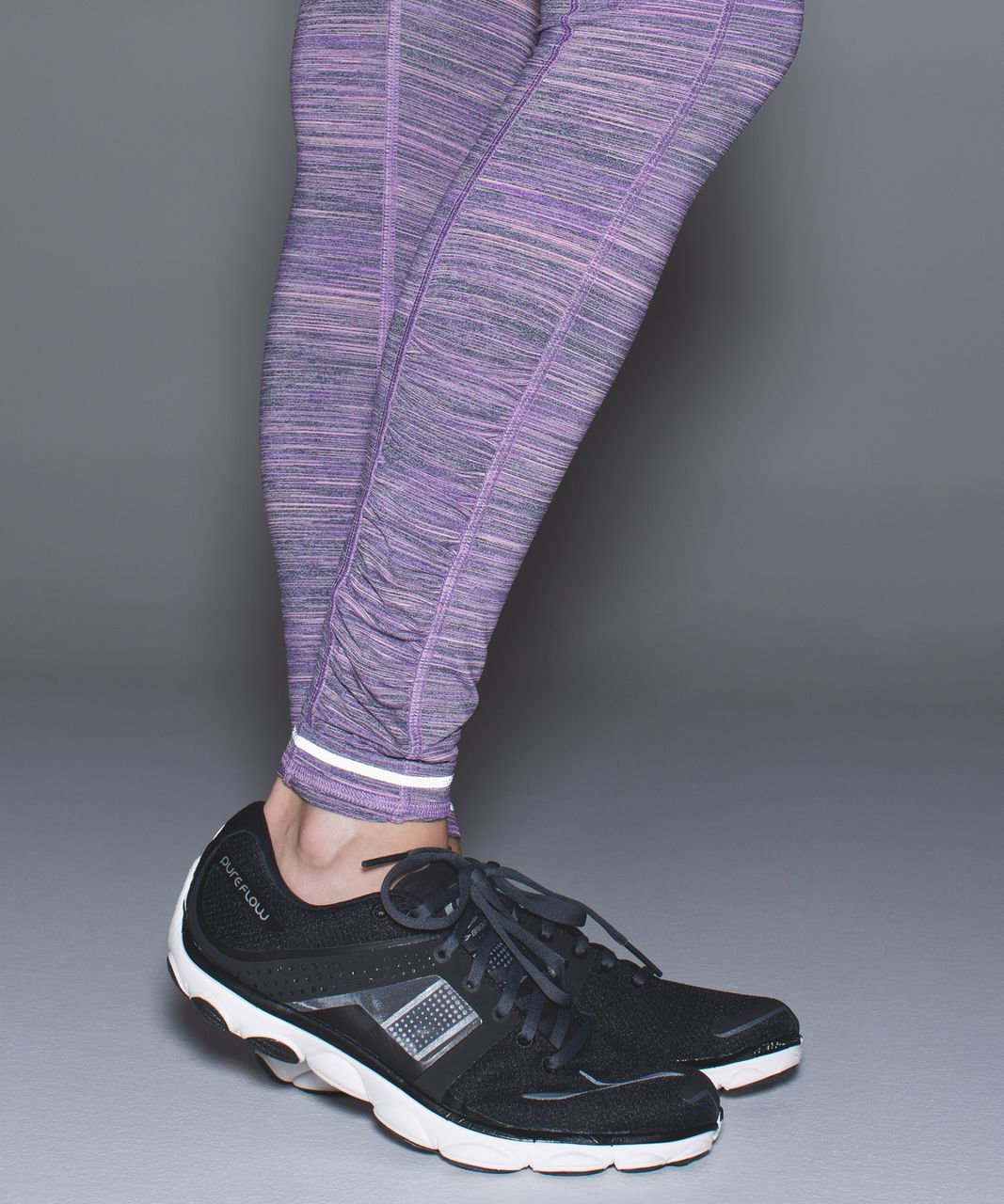 Lululemon Speed Tight IV - Space Dye Camo Tender Violet Black Grape