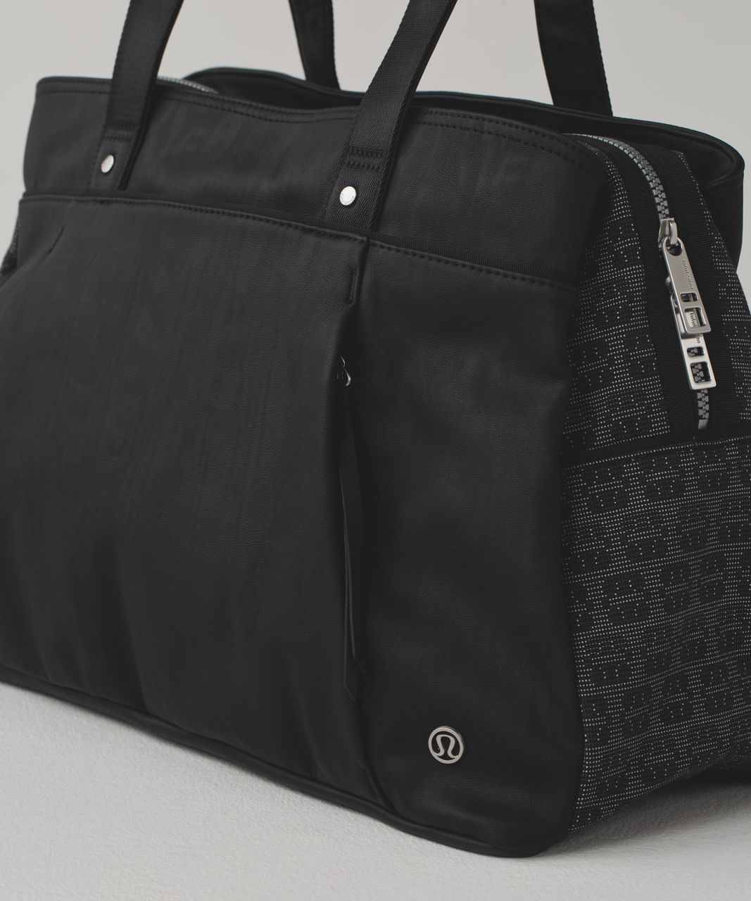 Lululemon Om The Day Bag Reflective Black Animal