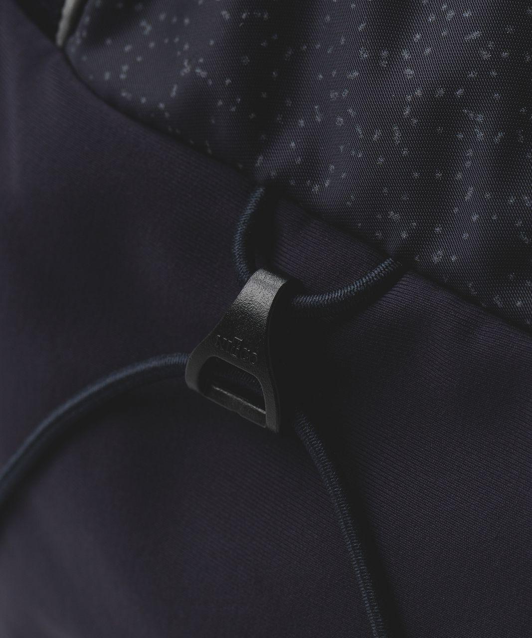 Lululemon Run All Day Backpack *Reflective - Star Pixel Naval Blue Multi