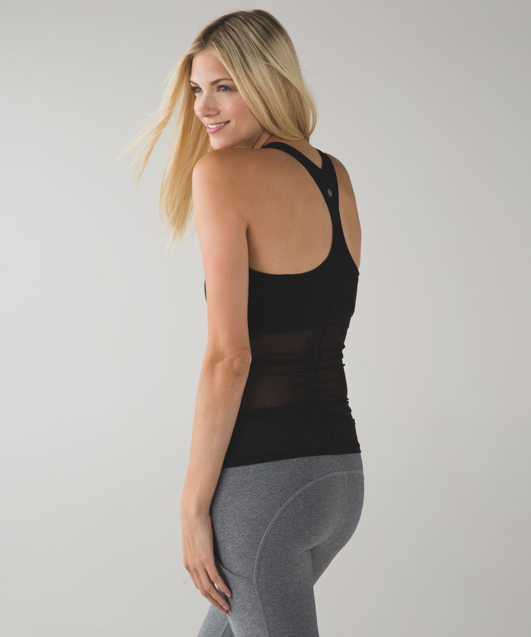 Lululemon Cool Racerback *Shine On - Black