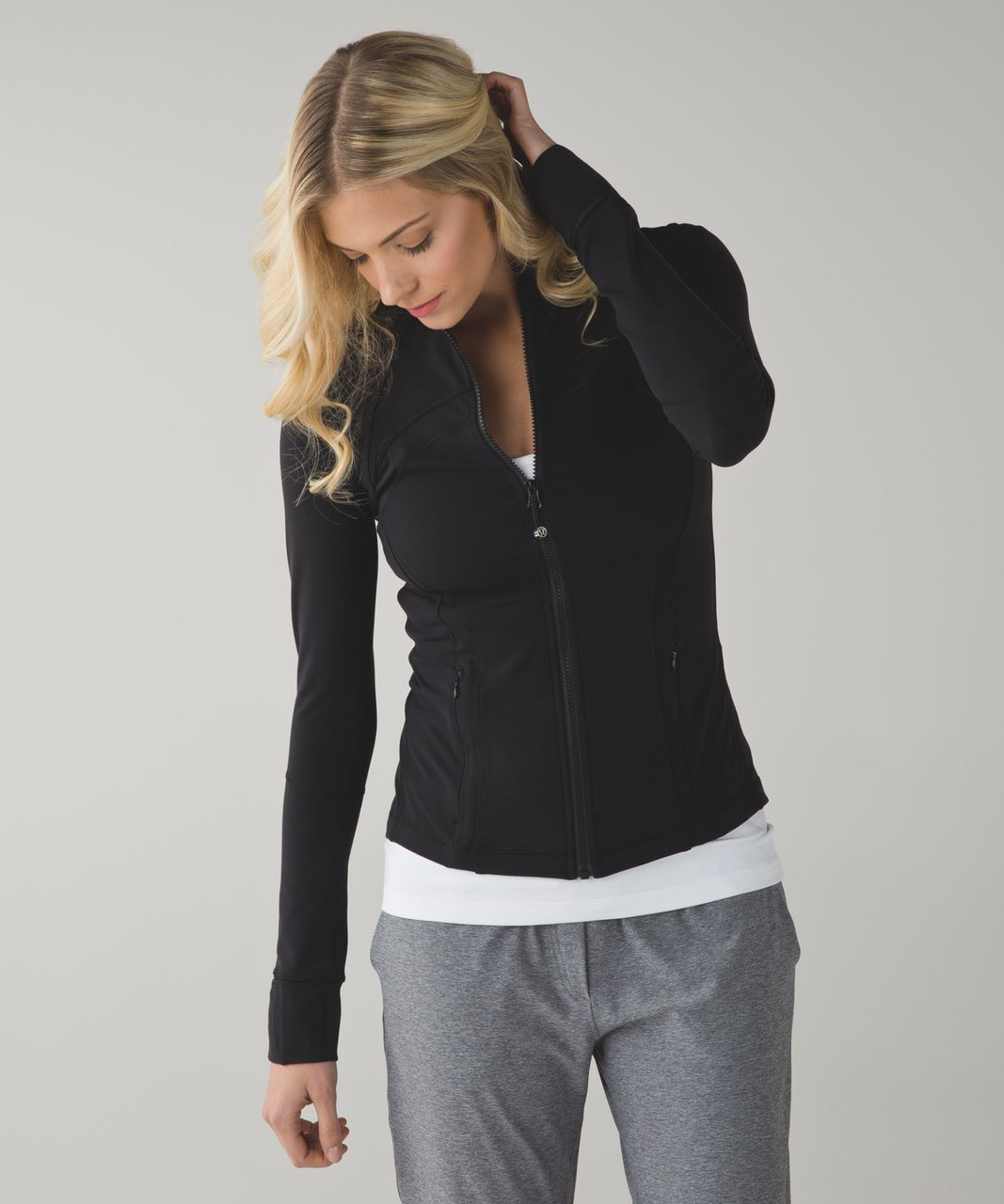 Lululemon Define Jacket *Shine On - Black