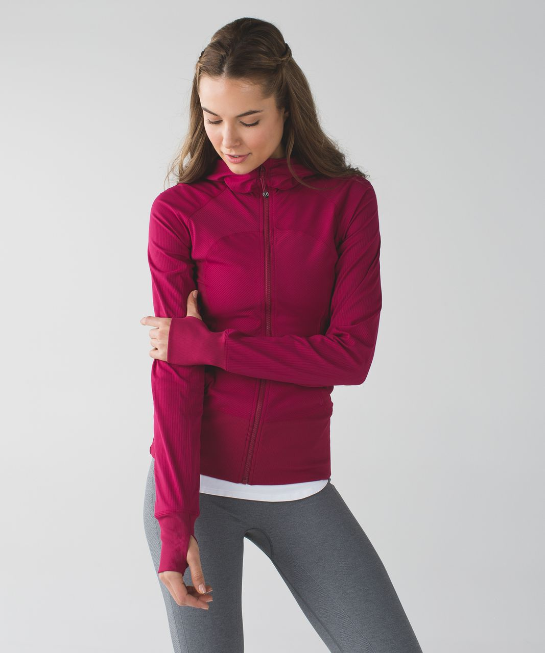 Lululemon In Flux Jacket - Berry Rumble
