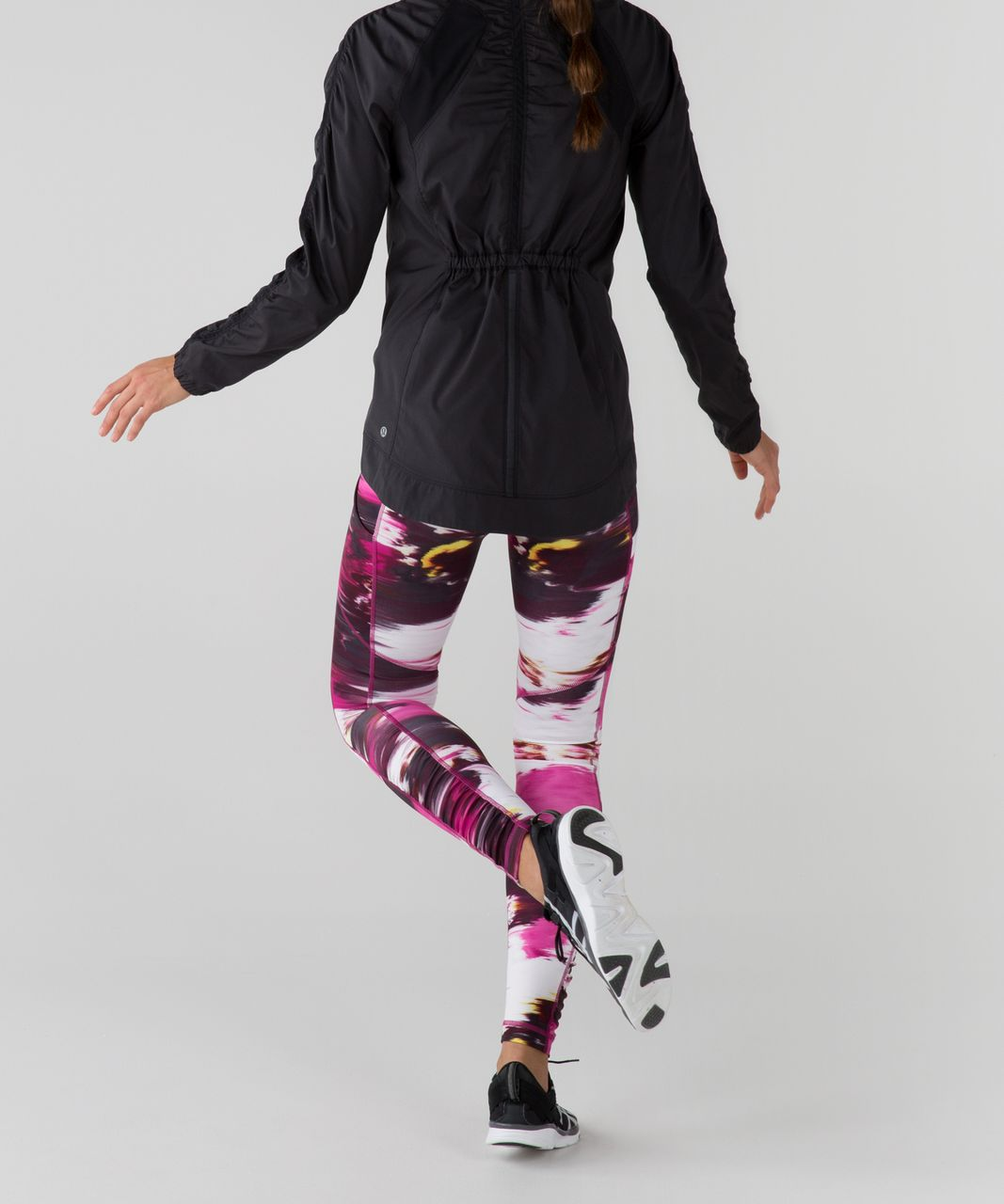 Lululemon Speed Tight IV *Full-On Luxtreme - Pigment Wind Berry Rumble Multi / Black