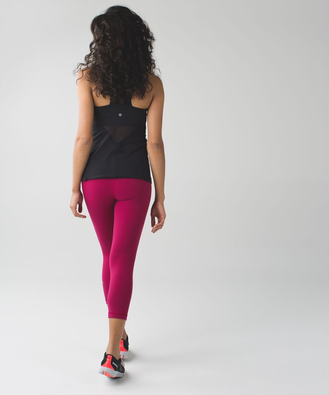 Lululemon Wunder Under Crop (Hi-Rise) *Full-On Luon - Berry Rumble / Pigment Wind Berry Rumble Multi