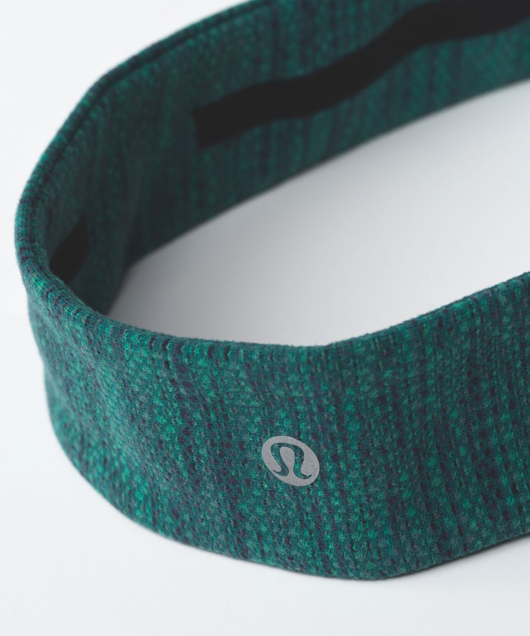 Lululemon Fly Away Tamer Headband II - Diamond Jacquard Space Dye Jungle Forage Teal