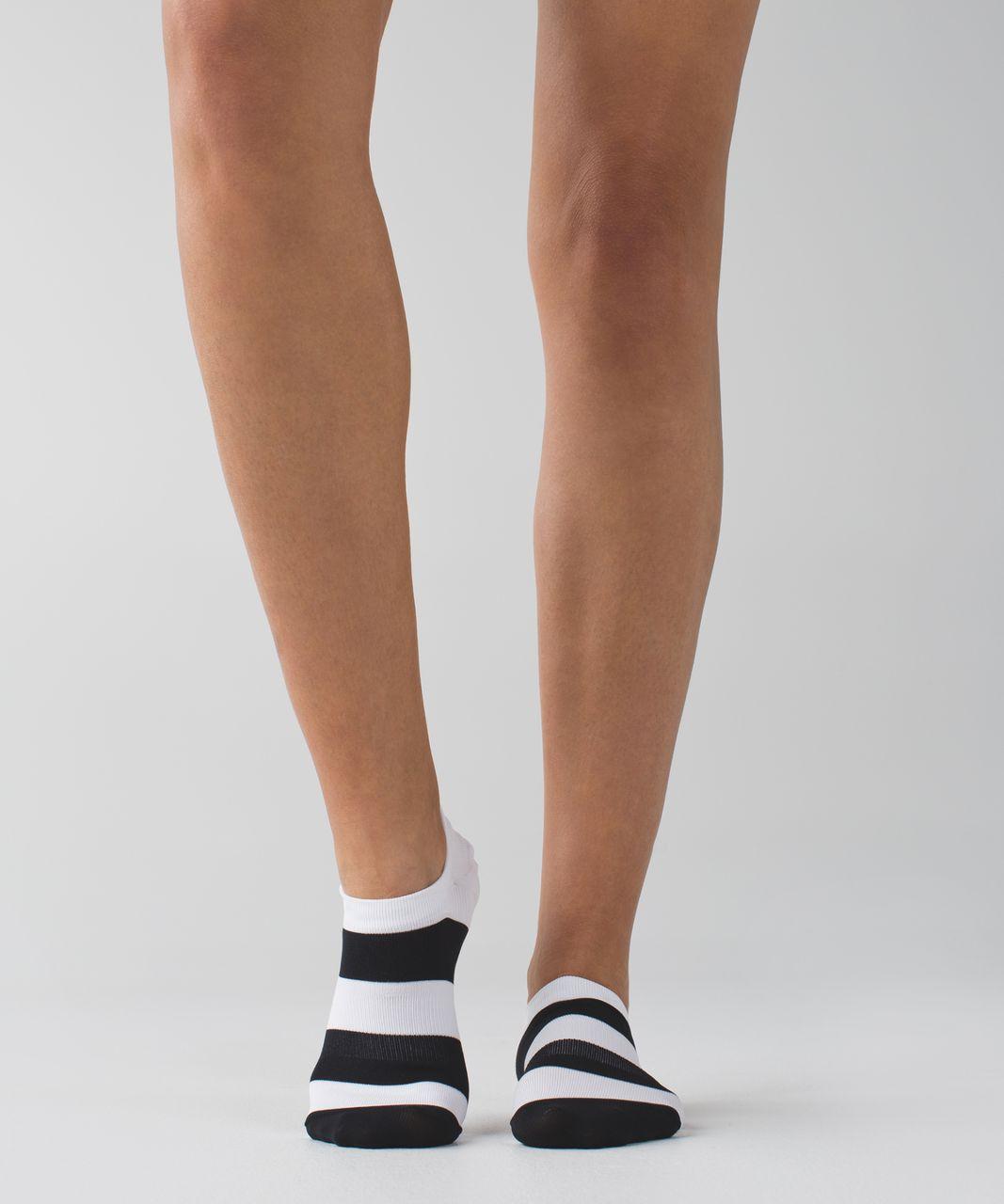 Lululemon Play All Day Sock - Black / White