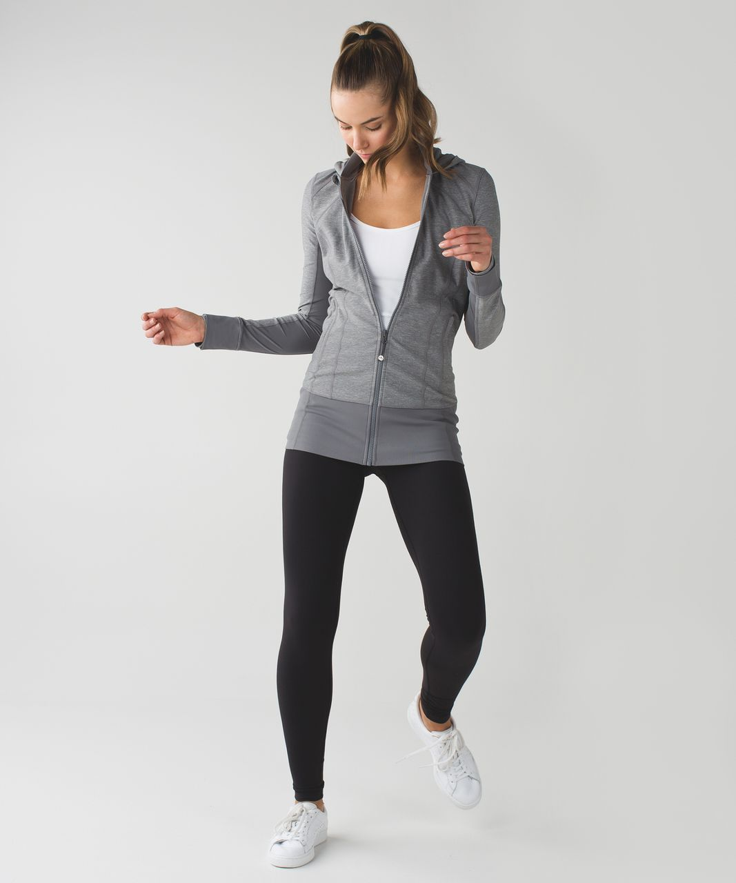 Lululemon Daily Practice Jacket - Heathered Slate / Slate