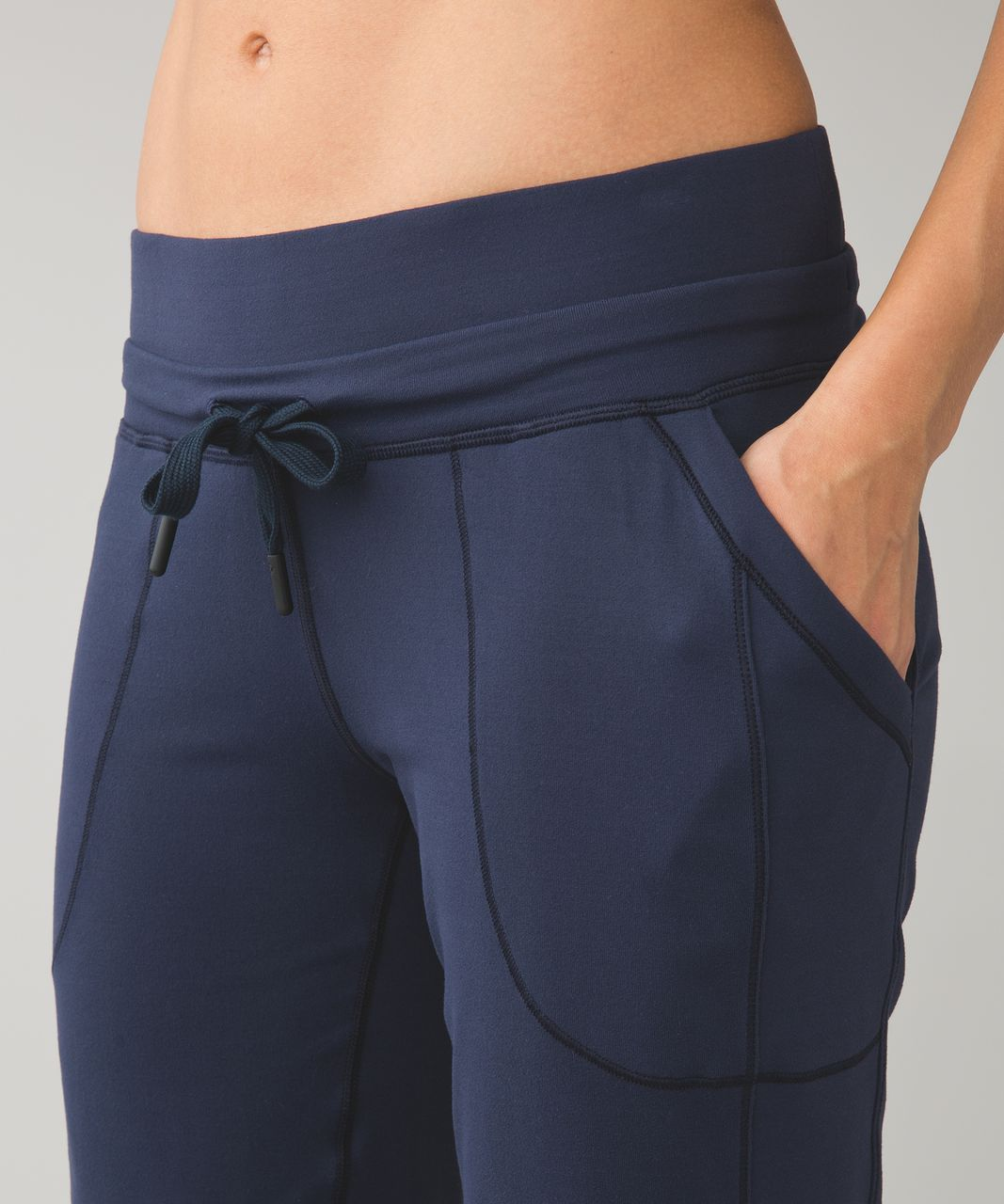 Lululemon Base Runner Pant III - Inkwell / Wee Stripe Inkwell Heathered Inkwell / Inkwell