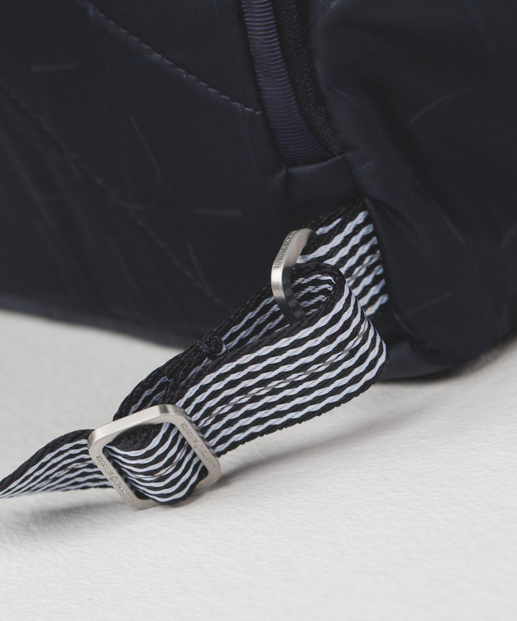 Lululemon Pack It Up Backpack - Tikki Tac Embossed Naval Blue