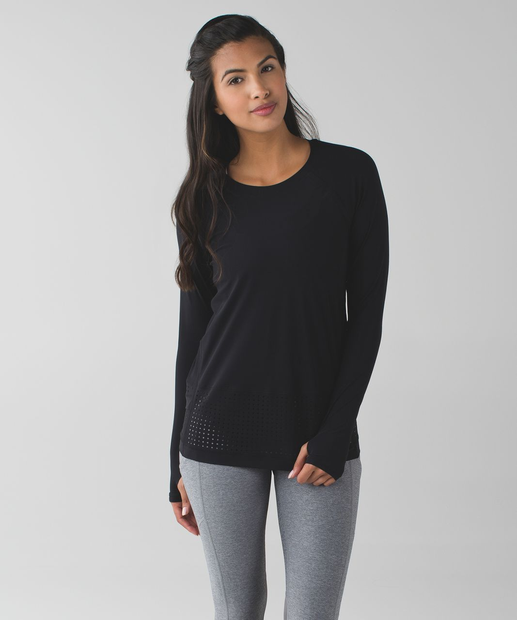 Lululemon Vent It Long Sleeve - Black