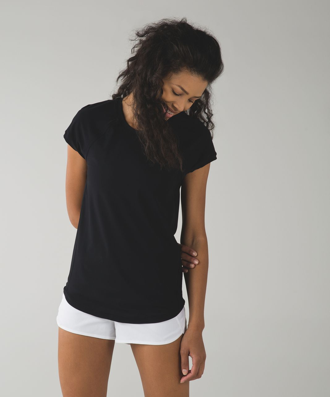 Lululemon Vent It Tee - Black