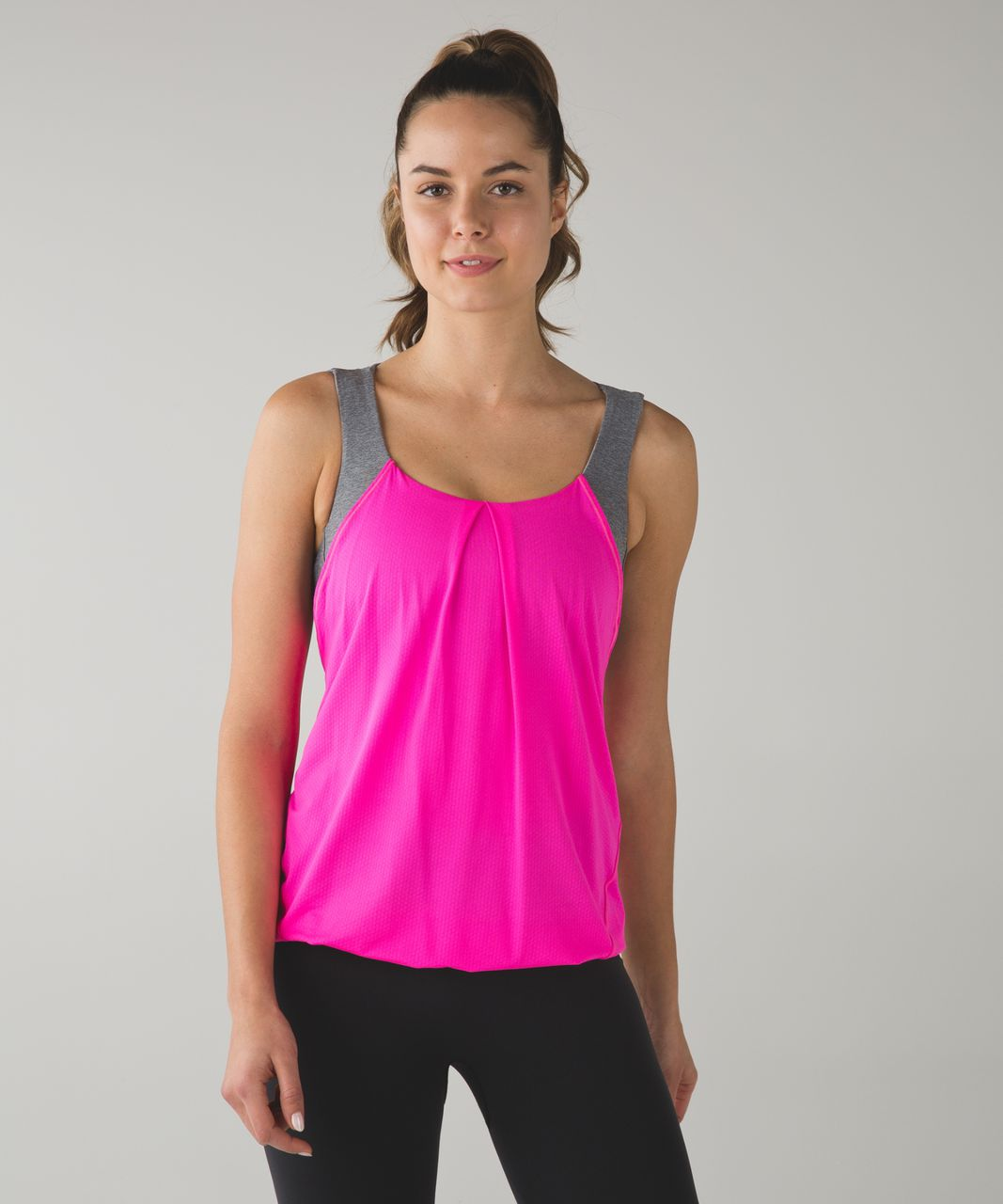 Lululemon Nouveau Limits Tank - Raspberry Glo Light