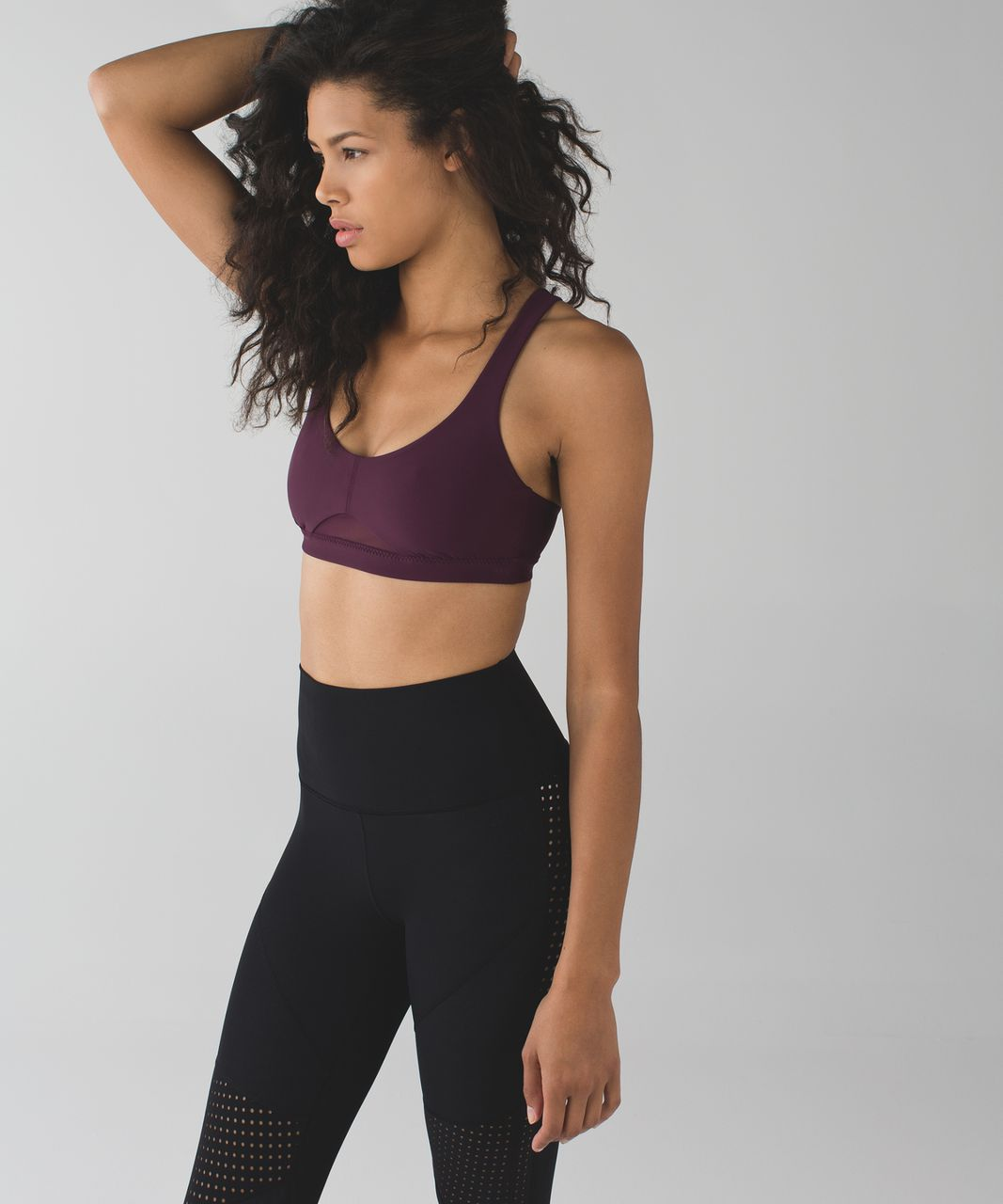 Lululemon Vent It Bra - Plum