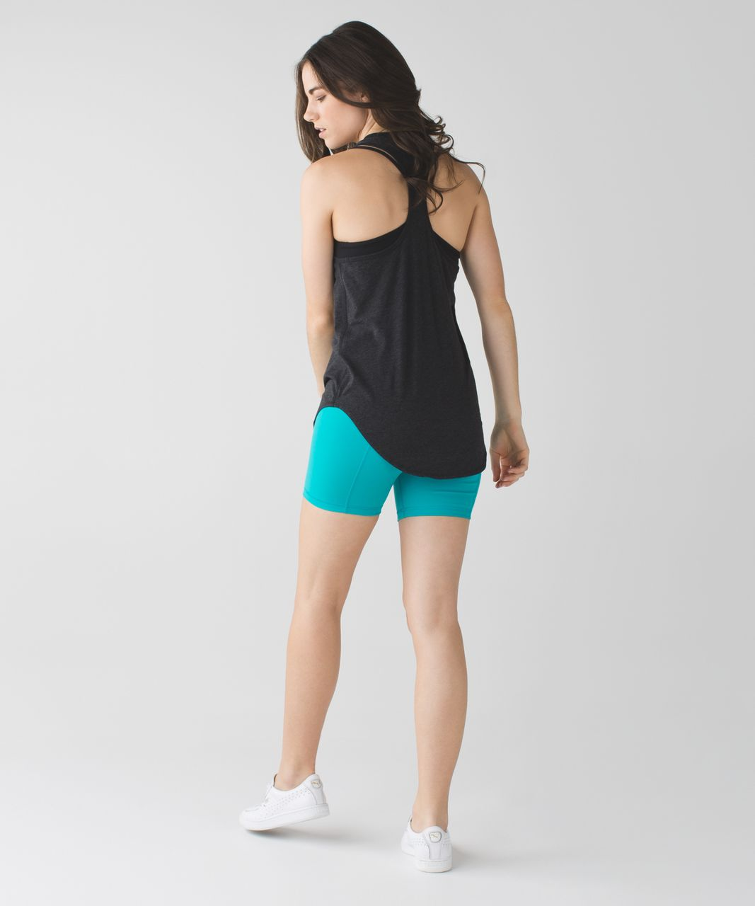 Lululemon Groove Short II (Roll Down - Regular) *Full-On Luon - Peacock Blue
