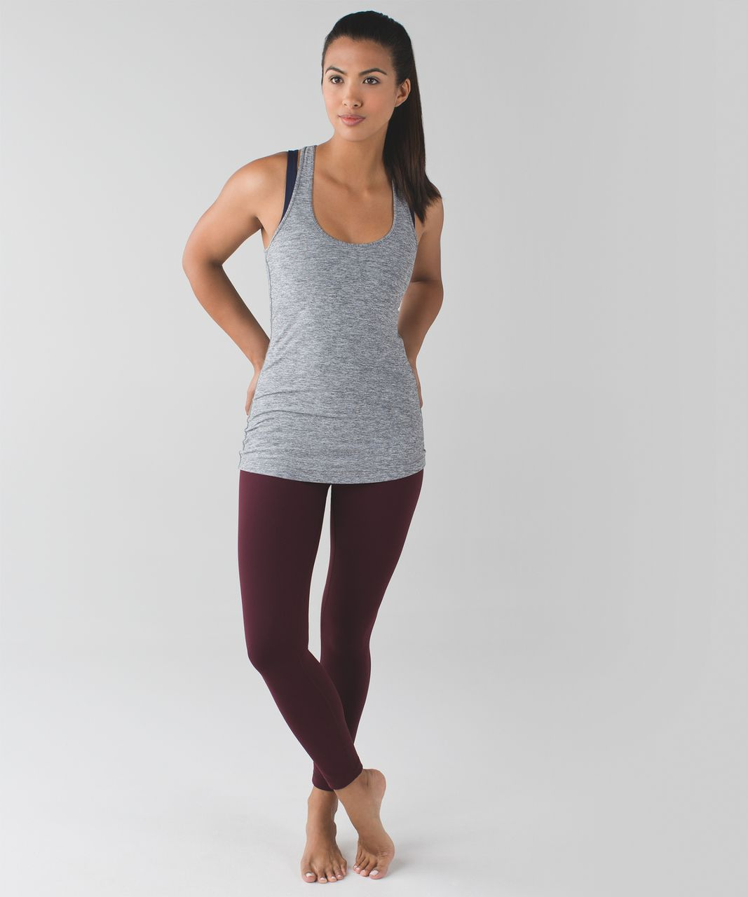 Lululemon High Times Pant *Full-On Luon - Bordeaux Drama