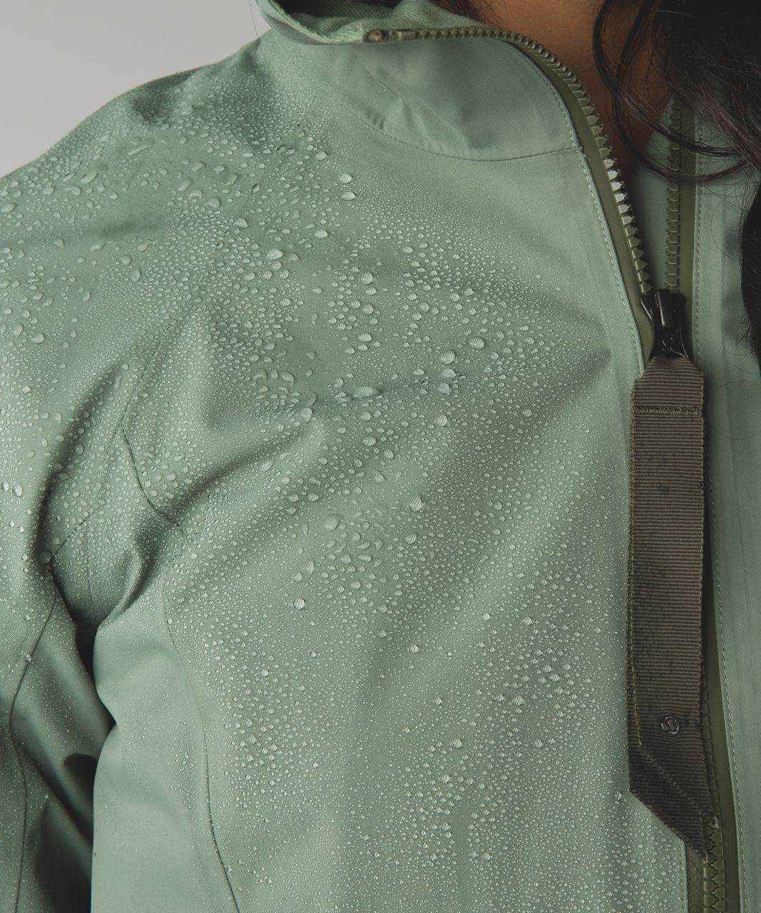 Lululemon Definitely Raining Jacket - Desert Olive