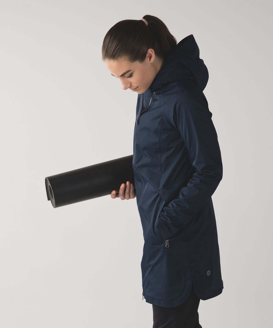 Lululemon Definitely Raining Jacket - Inkwell