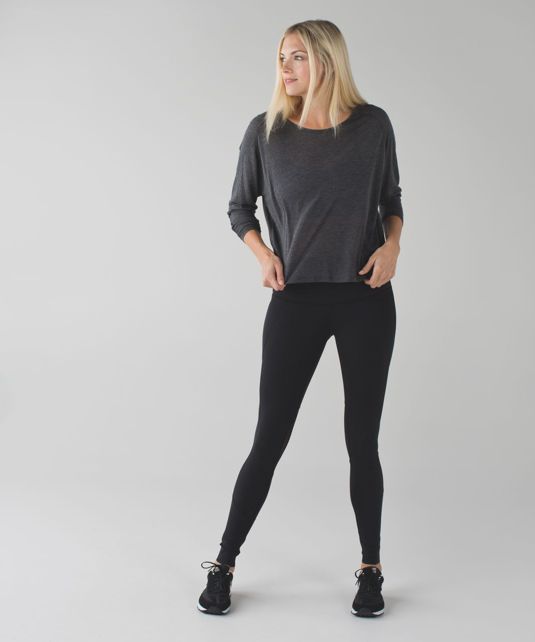 Lululemon Barre Star Pant *Full-On Luon - Black