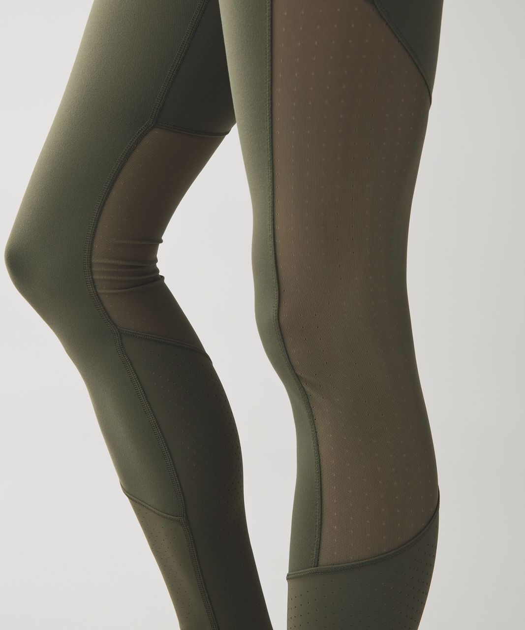 Lululemon Barre Star Pant *Full-On Luon - Fatigue Green