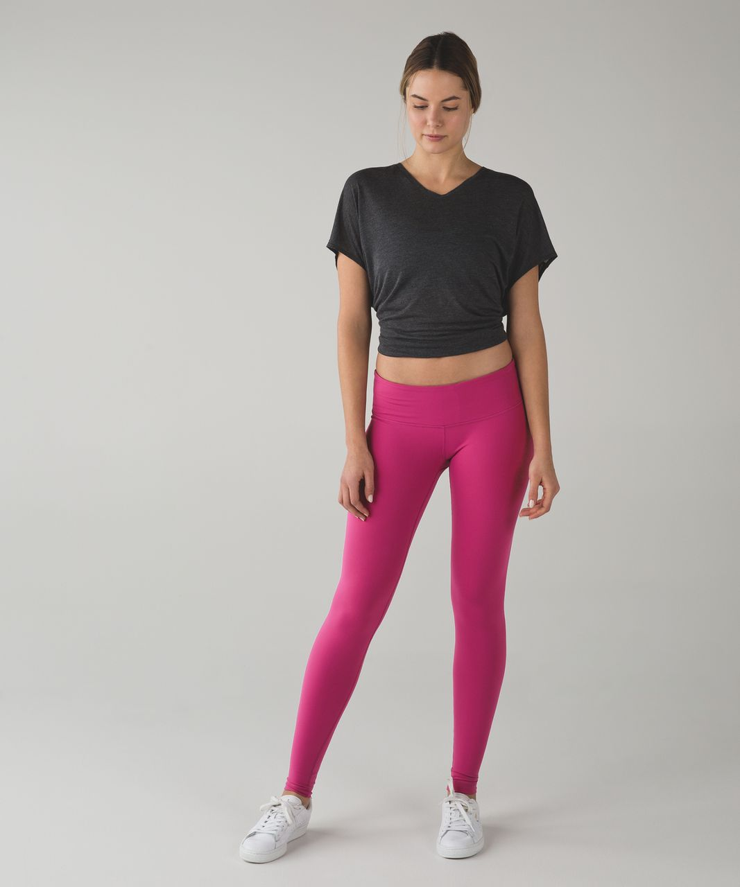 Lululemon Wunder Under Pant III *Full-On Luon - Raspberry