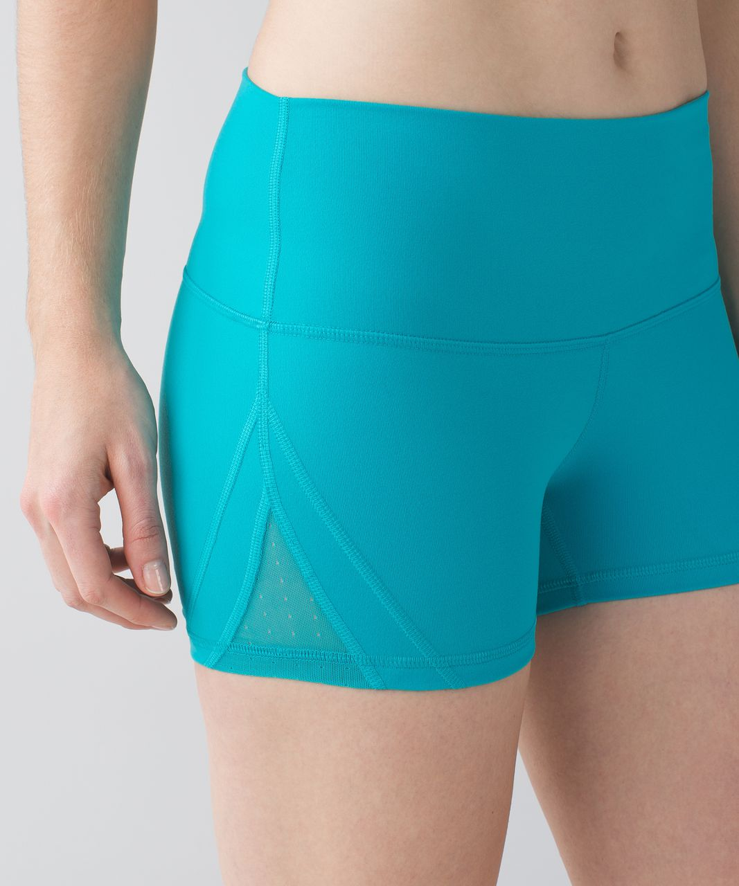 Lululemon Sweaty Endeavor Short *Full-On Luon - Peacock Blue