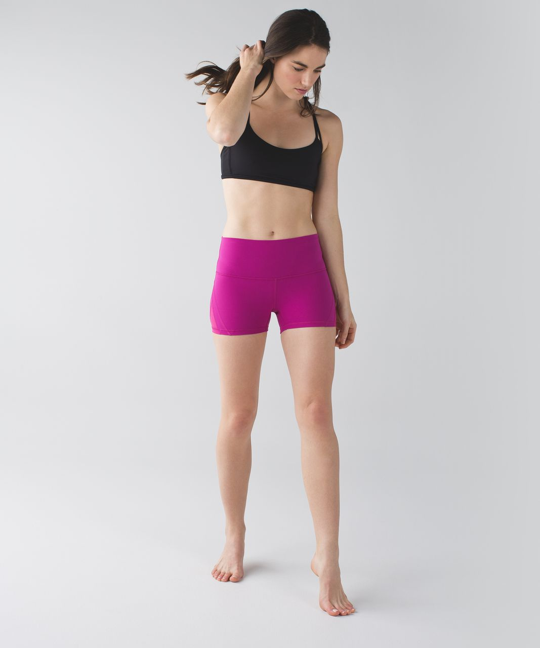 Lululemon Sweaty Endeavor Short *Full-On Luon - Raspberry
