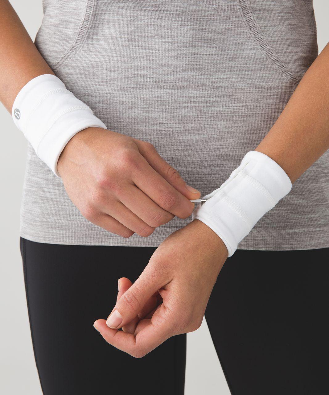 Lululemon Sweat Cuffs - White