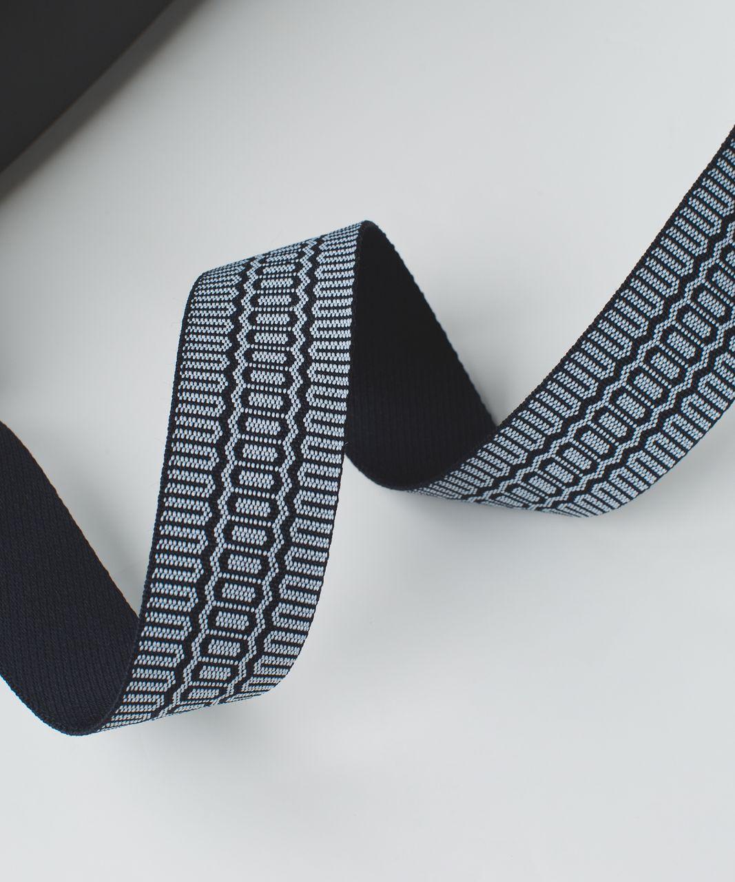 Lululemon Loop It Up Mat Strap - Naval Blue / Cool Breeze