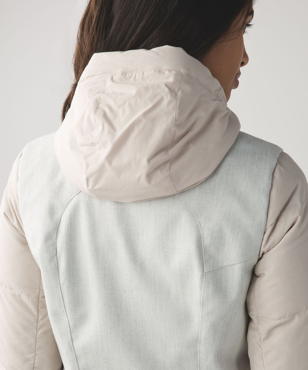 Lululemon Chilly Bomber - Sand Dune / Heathered Ghost