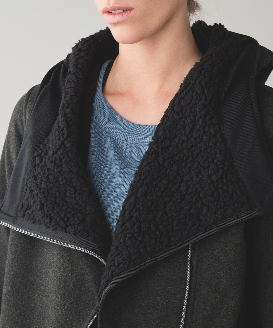 Lululemon Cozy Up Buttercup Jacket - Black