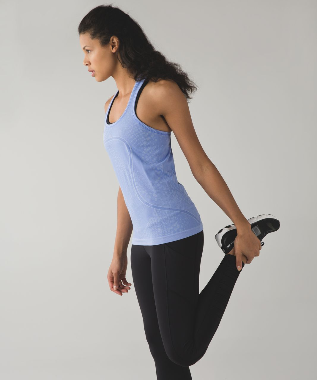 Lululemon Swiftly Tech Racerback - Heathered Lullaby