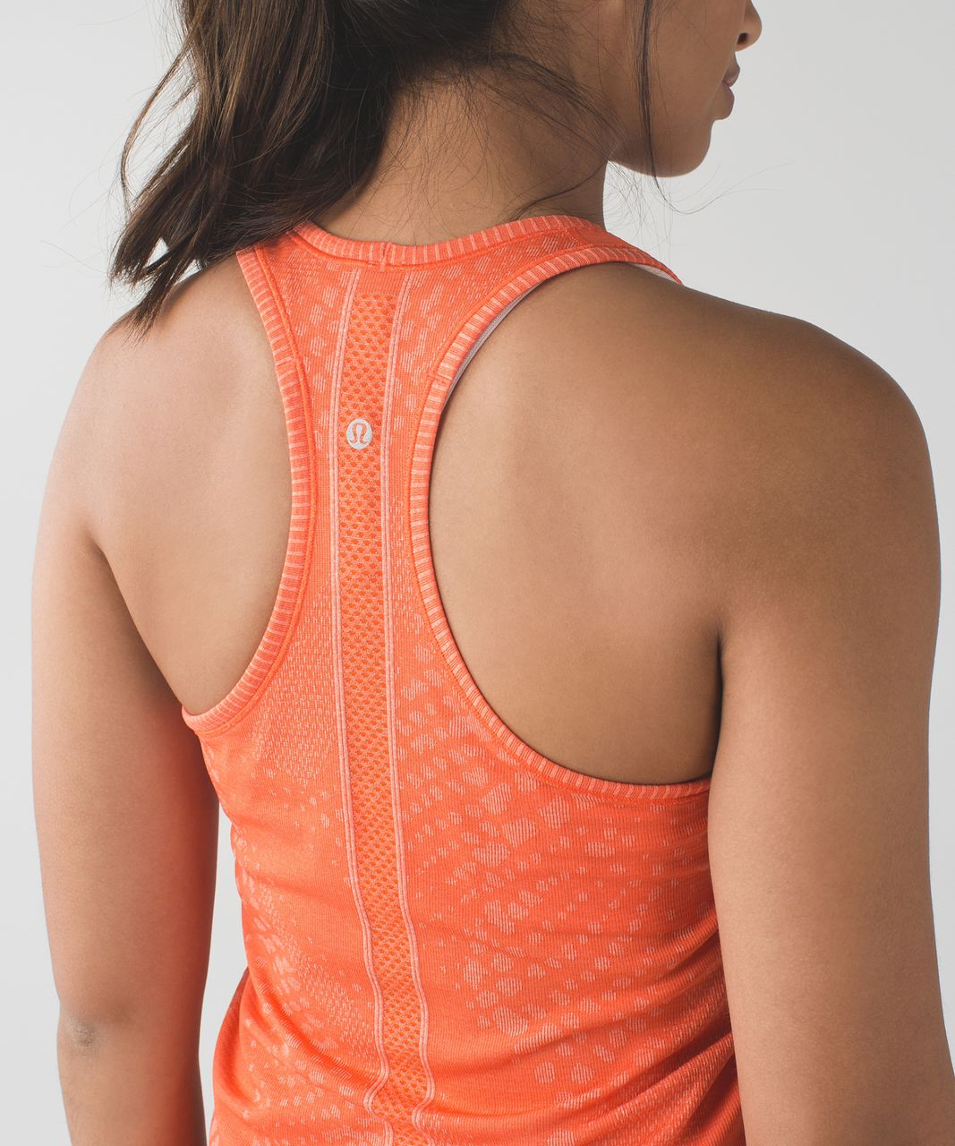Lululemon Swiftly Tech Racerback - Heathered Duck Sauce